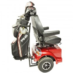 Golfbag holder