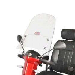 Vindskærm til el scooter