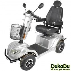 EL-scooter GO-EL 840 høj komfort og stor motor på 1400 W. digitalt display og 75Ah batterier
