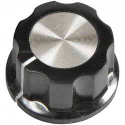 Drejeknap Ø20 mm - 6 mm aksel