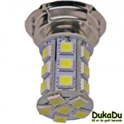 Hvid LED pære 24V