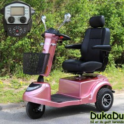 Pink El scooter