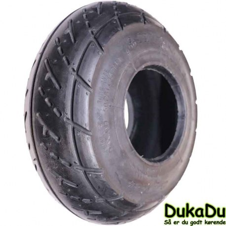 "Sort racing dæk 3,00 - 4"" 260x85"