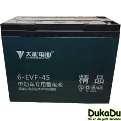 6EVF45 - Batteri 12 V 45 Ah - Xupai
