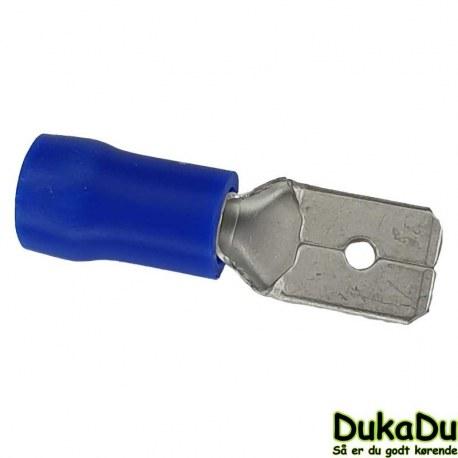 Spadestik han - Blå 2,5 mm