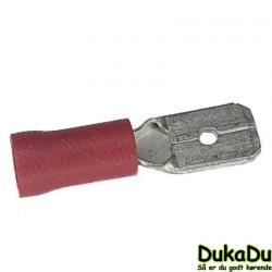 Spadestik han - Rød 1,5mm