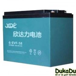 6-EVF-58 - 12V 58Ah AGM- batteri