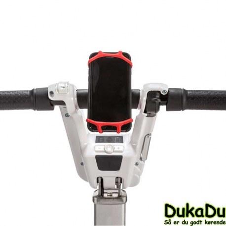 Telefonholder for atto rejse scooter