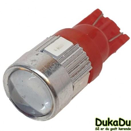LED pære rødt lys 24V