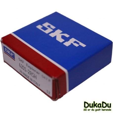 SKF Leje 6200-2RSH med gummitætning og standard smøremiddel