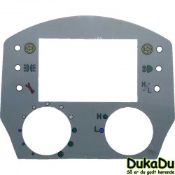 Label for kontrolpanel til go-el scooter
