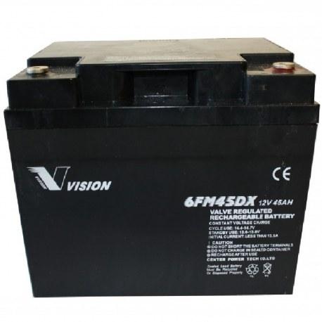 El scooter Batteri 12V/45Ah - 6FM45 - Vision
