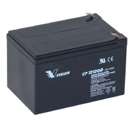 Batteri til el scooter 12 Ah 12 Volt
