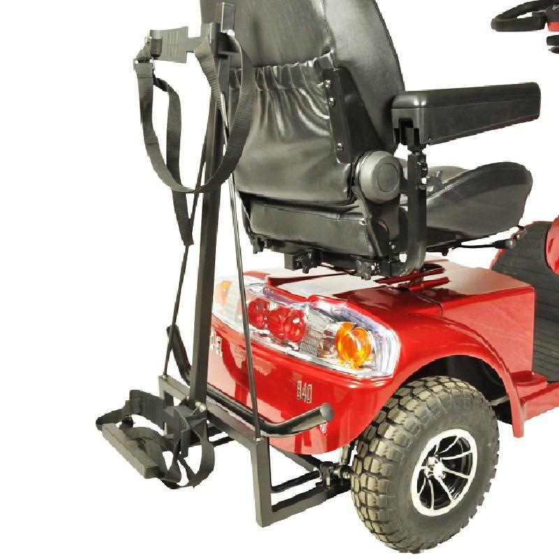 4 hjulet golfvogn i luksus udgave GO-EL 840 - Perfekt til golfbanen