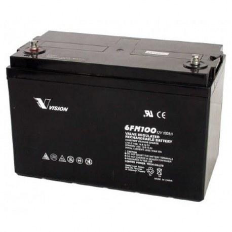 el-scooter batteri 12V/100Ah 6FM100 - Vision
