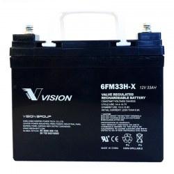 El-scooter batteri 33 Ah 12 Volt - Vision 6FM33