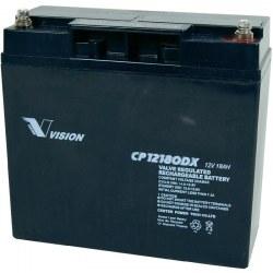 12V 18Ah Agm Batteri - CP12180 Vision
