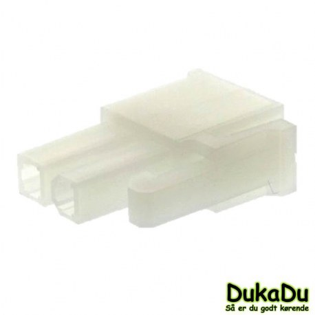 Molex - 2 polet mini fit Multi stik hun
