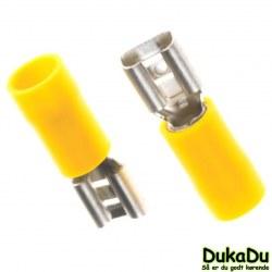 Spadestik hun - Gul - fra 2.5 - 6.0mm²