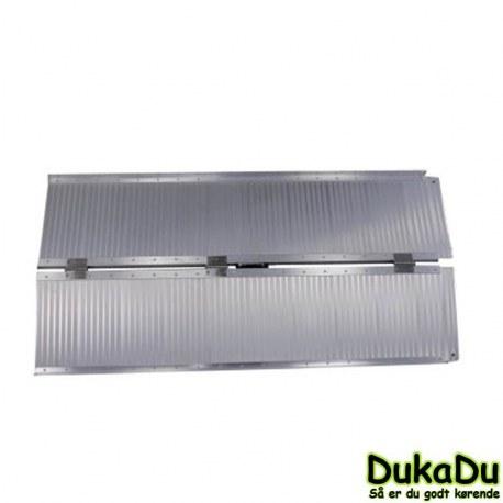 Aluminiums rampe på 152x72 cm foldebar