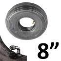 """8"""" Dæk og slanger"""