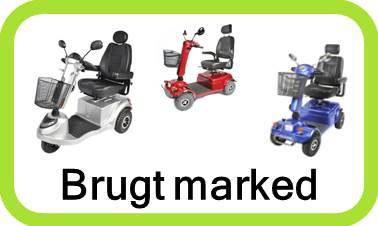 Stort udvalg af billige brugte el-scooter. Både 3 og 4 hjulet senior køretøjer.