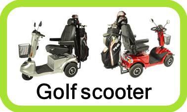 Golfvogne og Golf buggy - flere luksus modeller på lager. 3 og 4 hjulet.