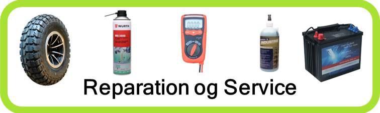 Reparation og service af el-scootere udført hjemme hos dig. Også muligt på vores værksted.